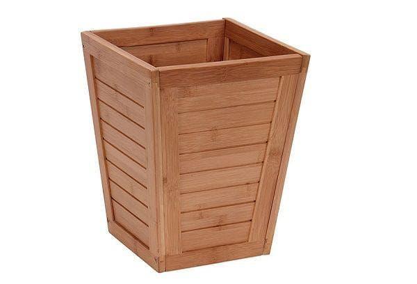 Ящик для мусора из досок