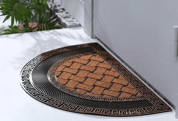 Уличный придверный коврик