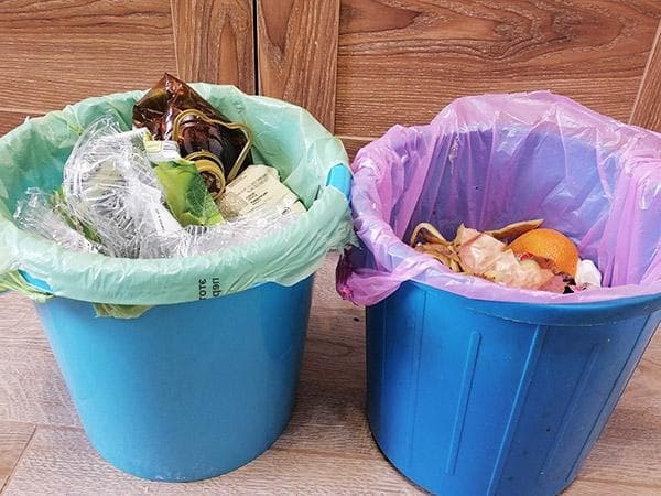 мусорные ведра