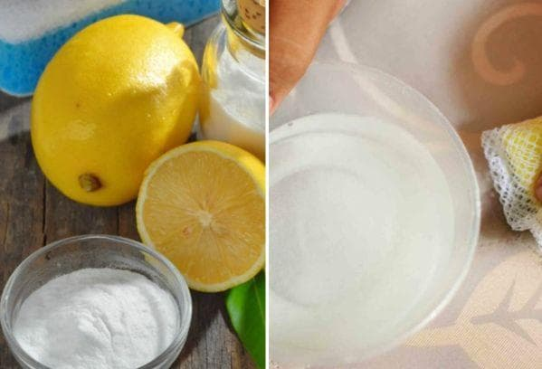 Смесь соли и лимонного сока