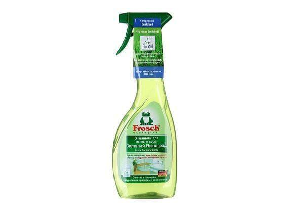 Очиститель для ванны и душа «Frosch Зелёный виноград»
