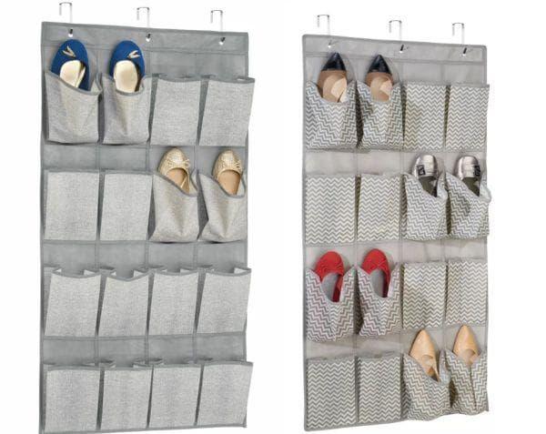 Хранение обуви в органайзерах