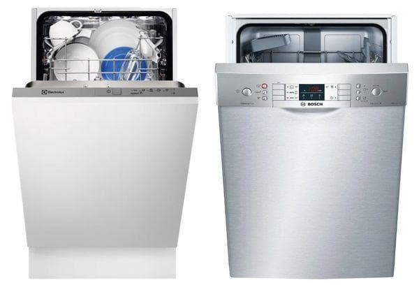 Посудомоечные машины Bosch и Электролюкс