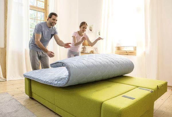 Тонкий матрас для кровати