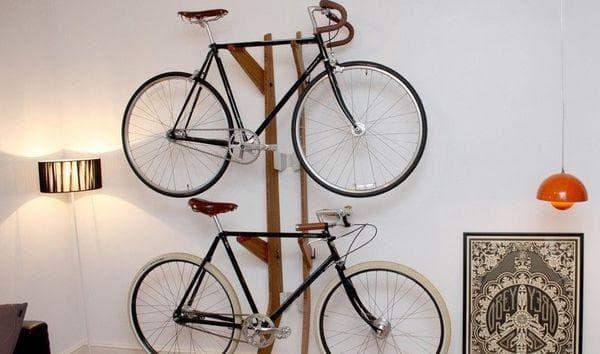 Велосипед в коридоре