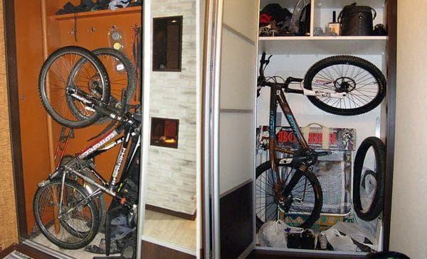 Велосипед на нише