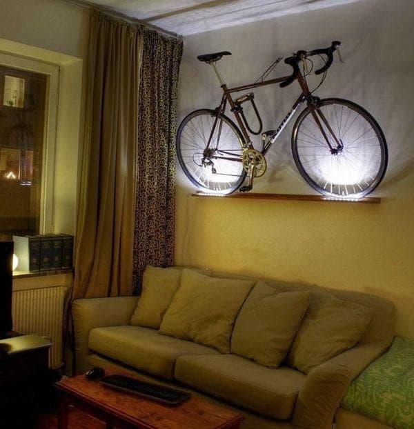 Велосипед как декорация