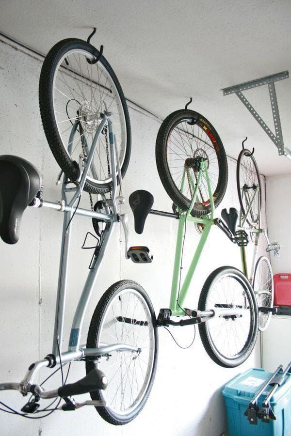 Крепление велосипедов к потолку