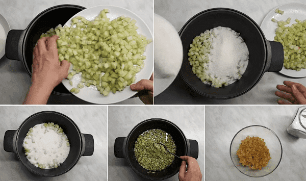 Цукаты из арбуза