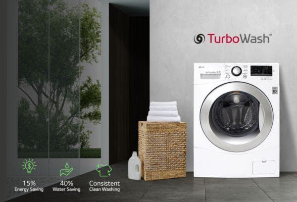 Turbo Wash в стиральной машине LG
