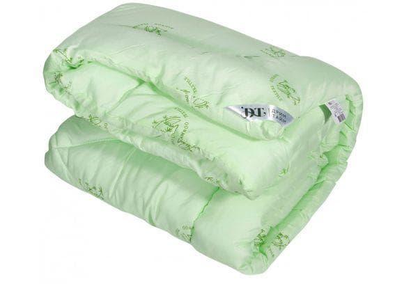Бамбуковое зеленое одеяло