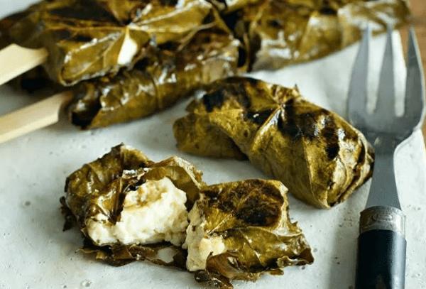 Сырная долма с сулугуни