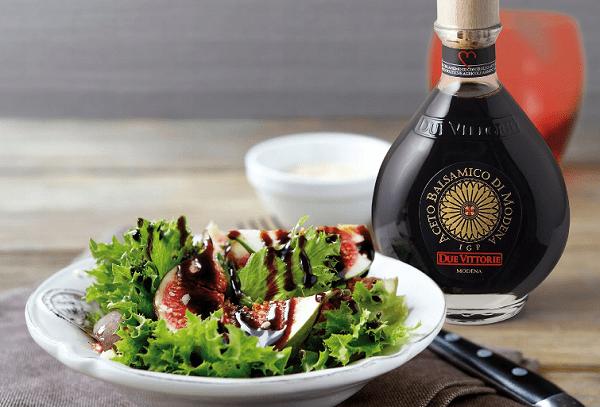 Салат с бальзамическим соусом