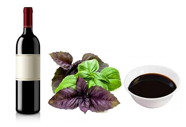 Наршараб с красным вином и базиликом