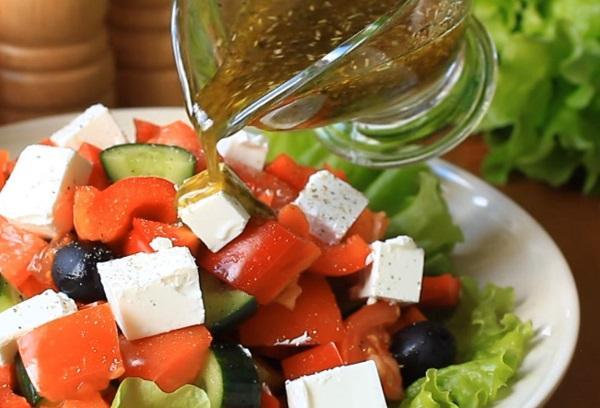 Рецепты греческого салата со специями