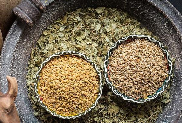 Семена хельбы специи