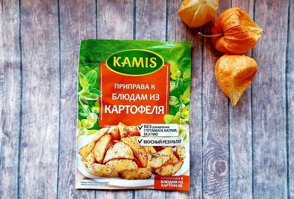 Приправа к блюдам из картофеля «Kamis»